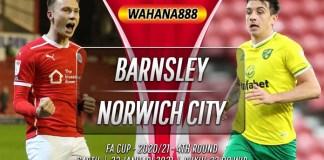 Prediksi Barnsley vs Norwich City 23 Januari 2021