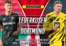 Prediksi Bayer Leverkusen vs Borussia Dortmund 20 Januari 2021