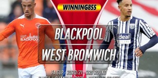 Prediksi Blackpool vs West Brom 9 Januari 2021