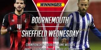 Prediksi Bournemouth vs Sheffield Wednesday 3 Februari 2021