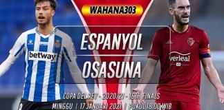 Prediksi Espanyol vs Osasuna 17 Januari 2021