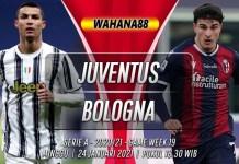 Prediksi Juventus vs Bologna 24 Januari 2021