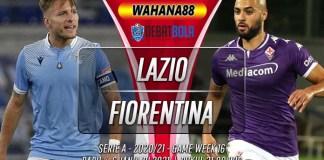 Prediksi Lazio vs Fiorentina 6 Januari 2021