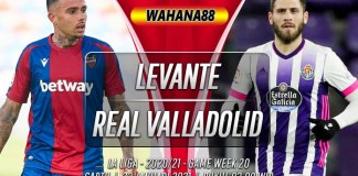 Prediksi Levante vs Real Valladolid 23 Januari 2021