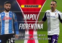 Prediksi Napoli vs Fiorentina 17 Januari 2021