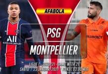 Prediksi PSG vs Montpellier 23 Januari 2021