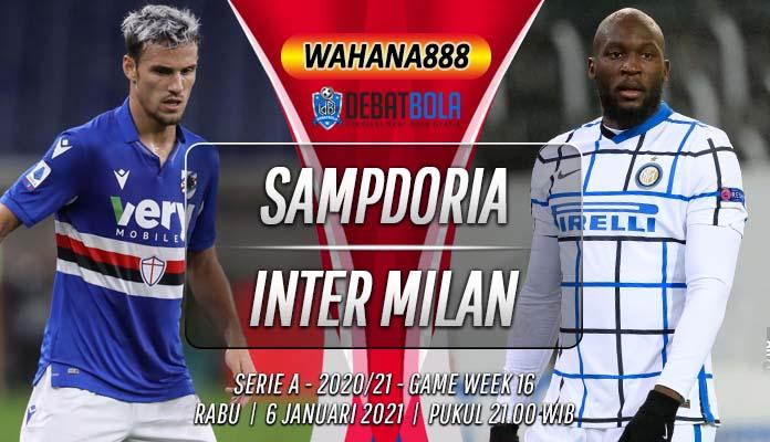 Prediksi Sampdoria vs Inter Milan 6 Januari 2021