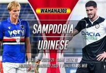 Prediksi Sampdoria vs Udinese 17 Januari 2021