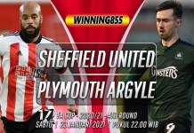 Prediksi Sheffield United vs Plymouth Argyle 23 Januari 2021