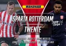 Prediksi Sparta Rotterdam vs Twente 29 Januari 2021