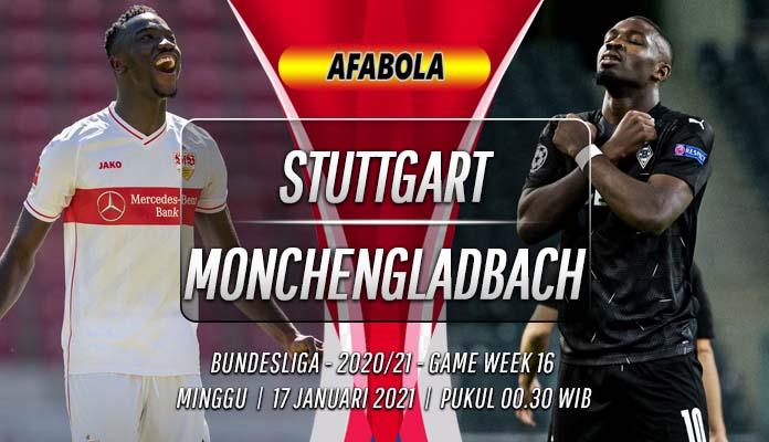 Prediksi Stuttgart vs Monchengladbach 17 Januari 2021