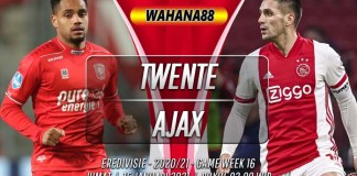 Prediksi Twente vs Ajax 15 Januari 2021