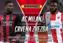 Prediksi AC Milan vs Crvena Zvezda 26 Februari 2021