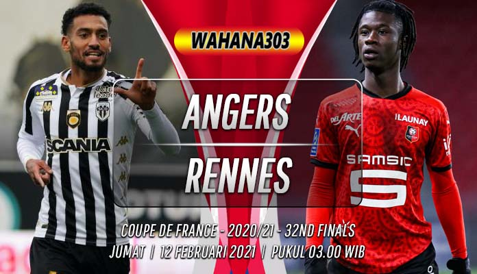 Prediksi Angers vs Rennes 12 Februari 2021