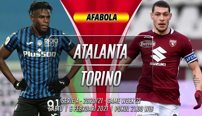 Prediksi Atalanta vs Torino 6 Februari 2021
