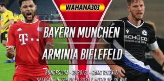 Prediksi Bayern Munchen vs Arminia Bielefeld 16 Februari 2021