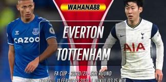 Prediksi Everton vs Tottenham Hotspur 11 Februari 2021