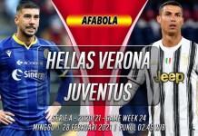 Prediksi Hellas Verona vs Juventus 28 Februari 2021