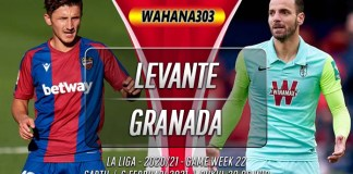 Prediksi Levante vs Granada 6 Februari 2021