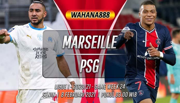 Prediksi Marseille vs PSG 8 Februari 2021