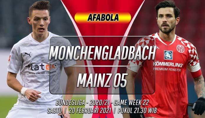 Prediksi Monchengladbach vs Mainz 05 20 Februari 2021