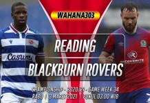 Prediksi Reading vs Blackburn Rovers 3 Maret 2021