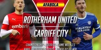 Prediksi Rotherham United vs Cardiff City 10 Februari 2021