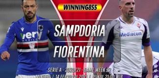 Prediksi Sampdoria vs Fiorentina 14 Februari 2021
