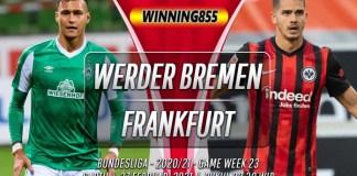 Prediksi Werder Bremen vs Frankfurt 27 Februari 2021