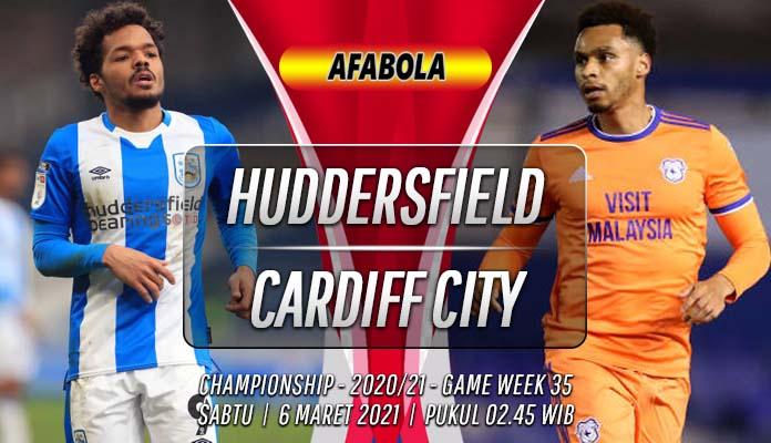 Prediksi Huddersfield Town vs Cardiff City 6 Maret 2021