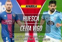 Prediksi Huesca vs Celta Vigo 7 Maret 2021