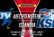 Prediksi Liechtenstein vs Islandia 1 April 2021