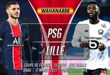Prediksi PSG vs Lille 17 Maret 2021