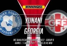 Prediksi Yunani vs Georgia 1 April 2021