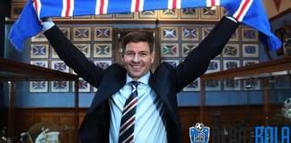 Steven Gerrard Antar Glasgow Rangers Juara Liga Skotlandia