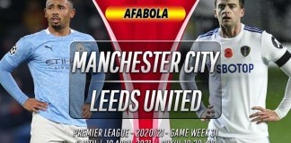 Prediksi Manchester City vs Leeds United 10 April 2021