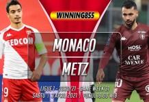 Prediksi Monaco vs Metz 3 April 2021