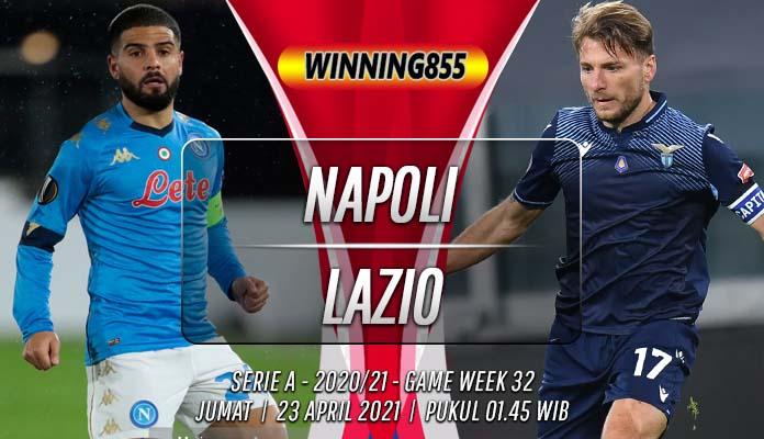 Prediksi Napoli vs Lazio 23 April 2021