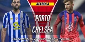 Prediksi Porto vs Chelsea 8 April 2021