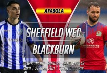 Prediksi Sheffield Wednesday vs Blackburn Rovers 21 April 2021