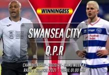 Prediksi Swansea City vs Queens Park Rangers 21 April 2021