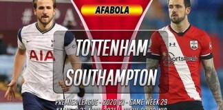 Prediksi Tottenham Hotspur vs Southampton 22 April 2021
