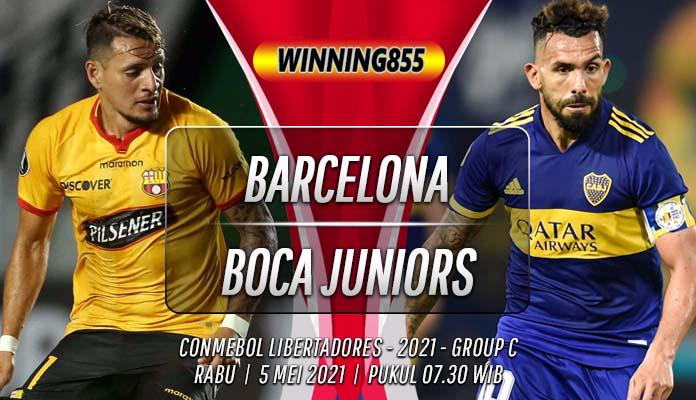 Prediksi Barcelona vs Boca Juniors 5 Mei 2021