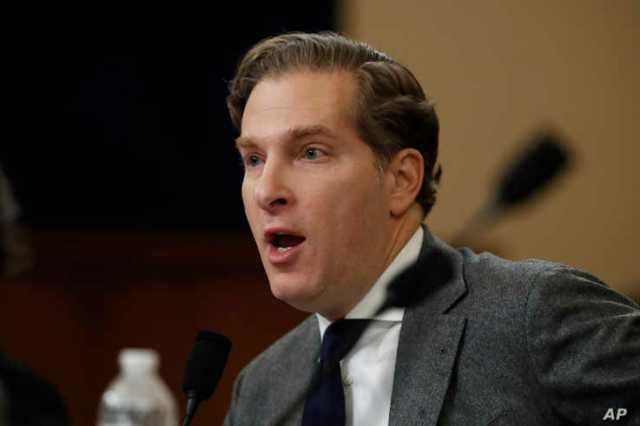 Harvard Law School professor Noah Feldman testifies during a hearing before the House Judiciary Committee