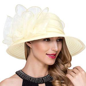 sombrero elegante accesorio para bautizo