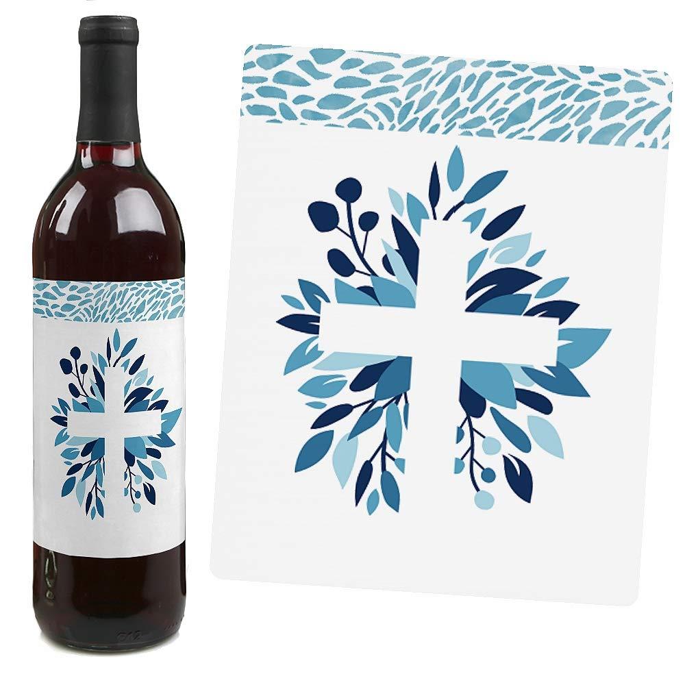 Botellas De Vino Para Regalar En Bautizos.Etiqueta Para Botellas Fiesta Bautizos De Bautizos