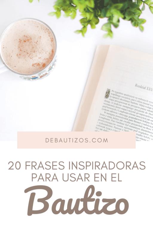 20 Hermosas Frases Para El Bautizo De Bautizos