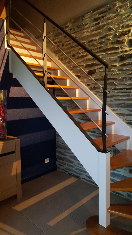 Rénovation Escalier Pleucadeuc