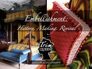 textile week modern embellishments