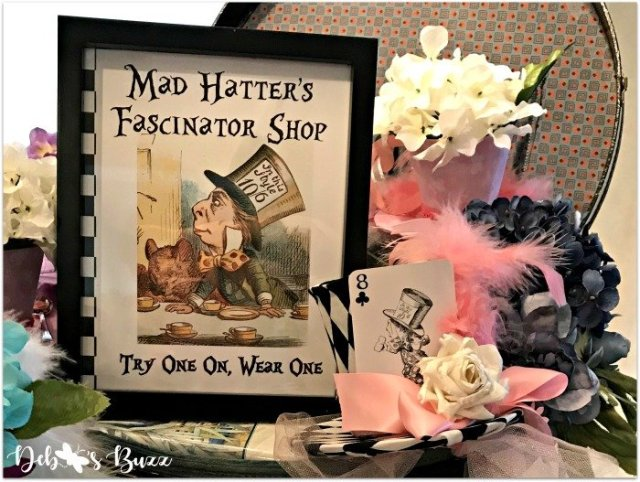 How to Make a Mad Hatter Fascinator